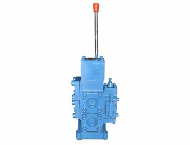 Manual proportional flow directional compound valve