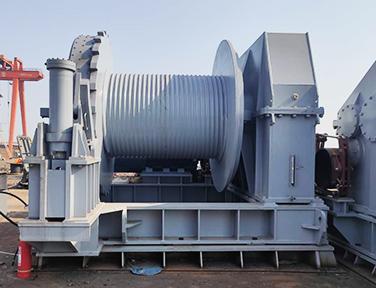 Electric hydraulic winch