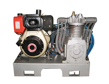 Air compressor diesel unit