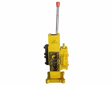 Marine manual proportional flow directional compound valve